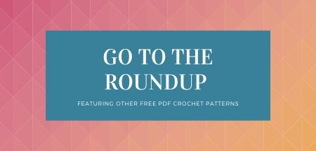 Button that takes you to the full list of patterns in the crochet stash busting challenge
