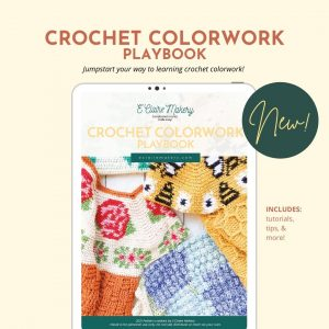 Preview of a resource for learning to crochet with different colors