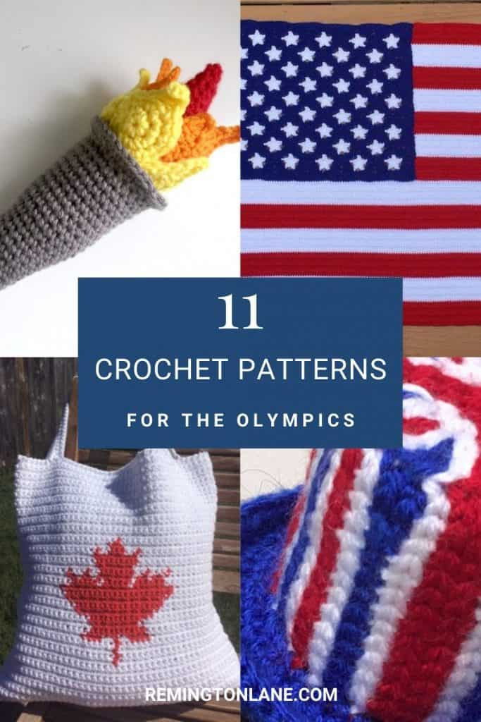 An image of multiple country-specific crochet patterns as a reminder to save the image
